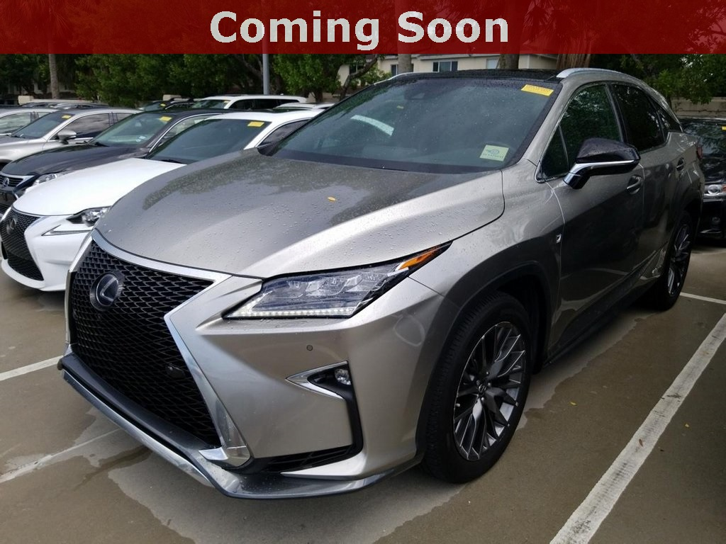 Pre-Owned 2017 Lexus RX 450h F Sport