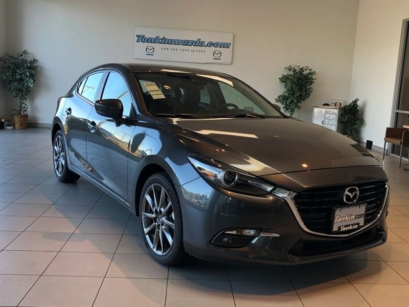 new 2018 mazda mazda3 grand touring base 4d hatchback in portland m0518049 ron tonkin mazda. Black Bedroom Furniture Sets. Home Design Ideas