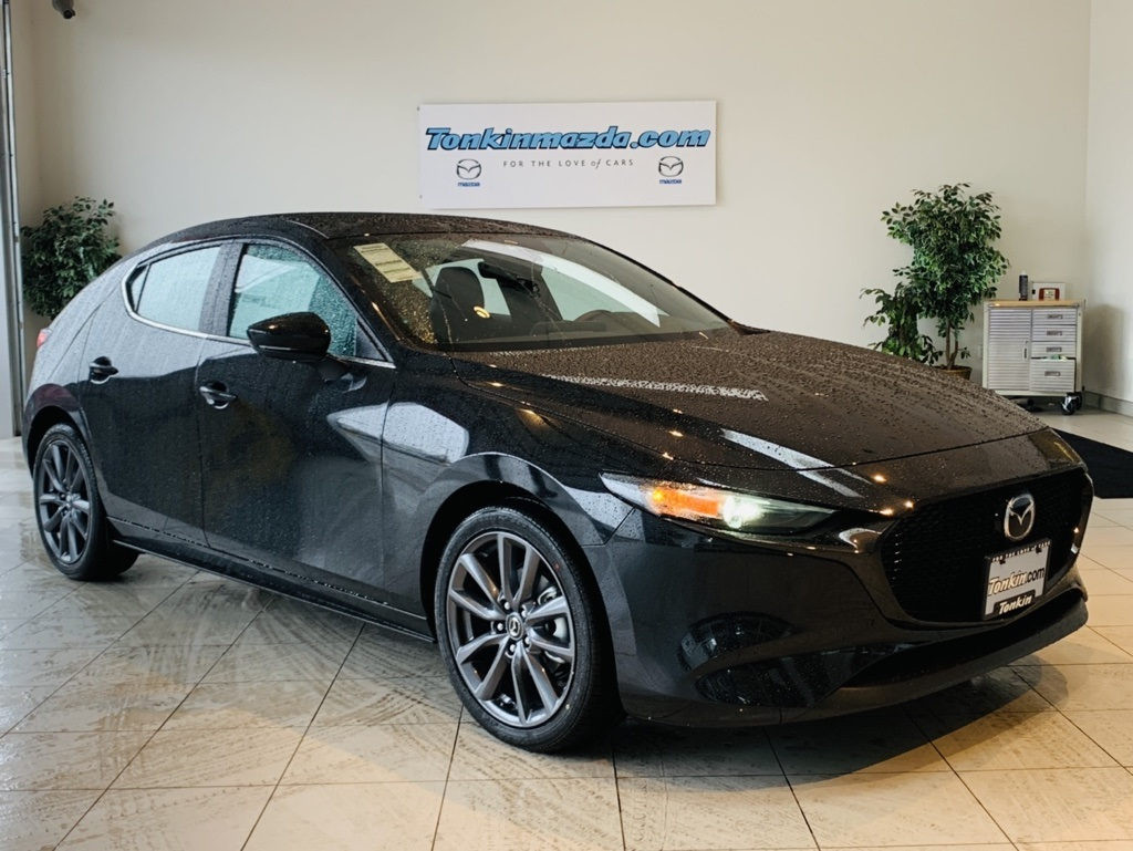 Mazda 3 Hatchback >> New 2019 Mazda3 Preferred Base Fwd 4d Hatchback