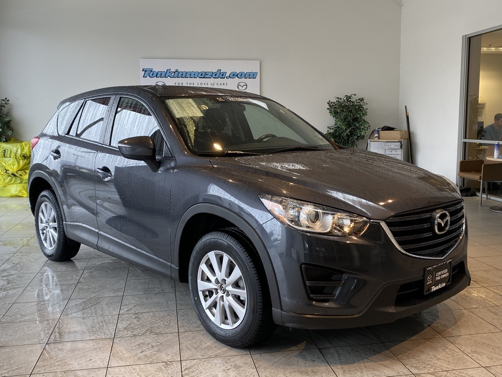 Certified Pre-Owned 2016 Mazda CX-5 Sport 6 Speed Manual!!! RARE!!!!