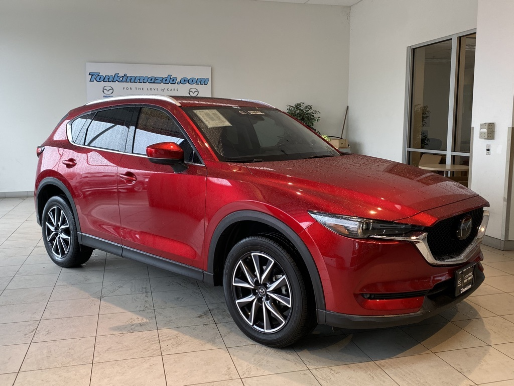 Certified Pre-Owned 2017 Mazda CX-5 Grand Touring FWD