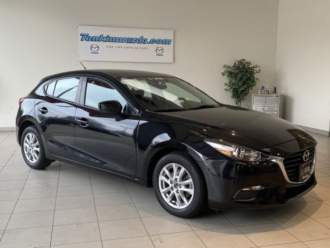 Certified Pre-Owned 2017 Mazda3 Sport Base