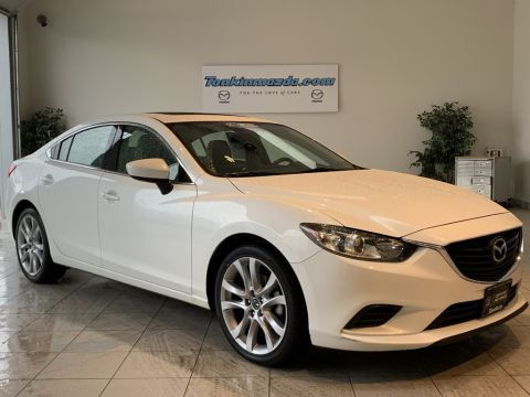 Certified Pre-Owned 2016 Mazda6 i Touring Moonroof/Bose/Sat Package